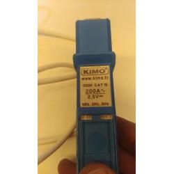 enregistreur kimo KTR 350 + Pince ampèremétrique