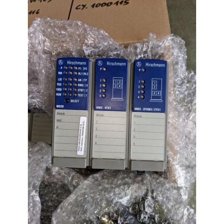 3 modules HIRSCHMANN utilisés 1 fois MS20