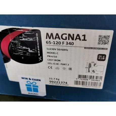 Circulateur Magna1 65 - 120F 340 1 x 230V PN6 / 10